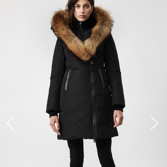 Mackage Kay Parka - XS Grey with Fur Trim